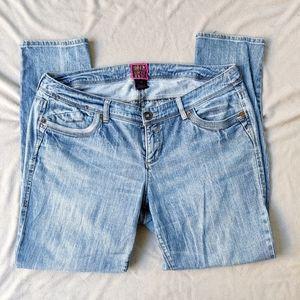 Torrid Light Wash Stretch Skinny Jeans